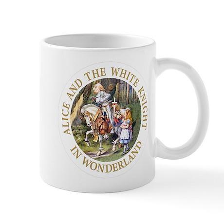 Alice and the White Knight Mug