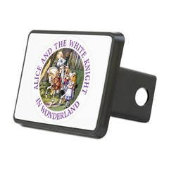 Alice and the White Knight Hitch Cover