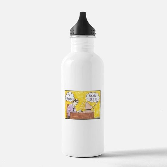 Cute Comic strip Water Bottle