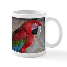 Green Wing Macaw Small Mug