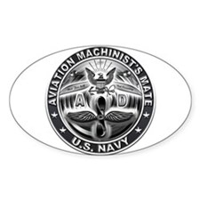 USN Aviation Machinists Mate Eagle Rate Decal
