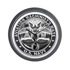 USN Aviation Machinists Mate Eagle Rate Wall Clock