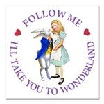Follow Me - I'll Take You to Wonderland Square Car