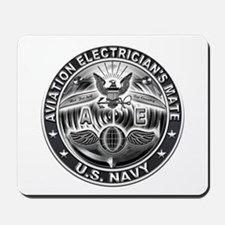 USN Aviation Electricians Mate Eagle Rate Mousepad
