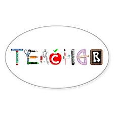 Teacher Oval Decal
