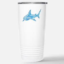 Great White Shark Grey Stainless Steel Travel Mug