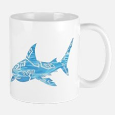 Great White Shark Grey Mug