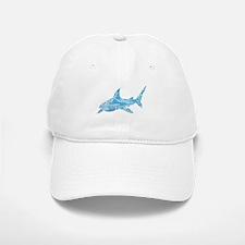 Great White Shark Grey Baseball Baseball Cap