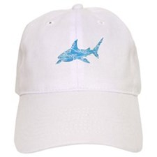 Great White Shark Grey Cap