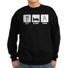 Eat Sleep Trek Sweatshirt