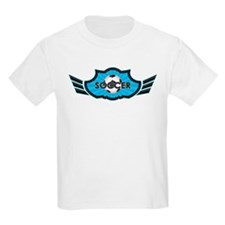 Blue Soccer Logo T-Shirt