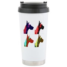 Great Dane Pop Art Travel Mug