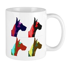 Great Dane a la Warhol Mug
