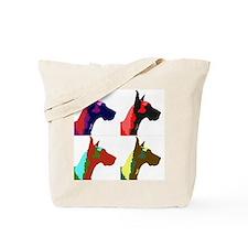 Great Dane Pop Art Tote Bag