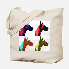 Great Dane Pop Art Tote Bag