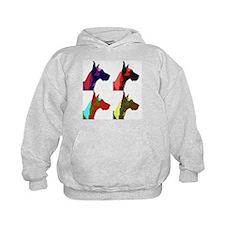 Great Dane Pop Art Hoodie