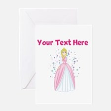 Personalize This Princess Designed Item Greeting C
