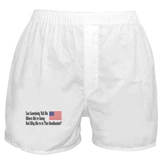In This Handbasket Boxer Shorts