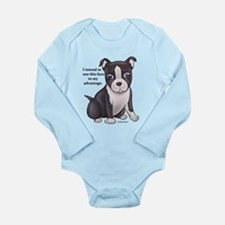 I intend to use this face... Long Sleeve Infant Bo