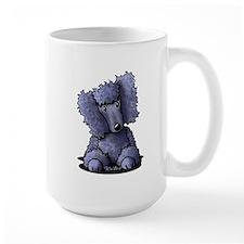 Blue Poodle Mug