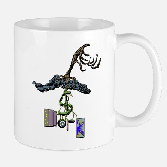 The Root of Money Is Work Mug