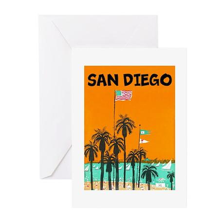 San Diego II Greeting Cards
