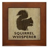 Squirrel Framed Tiles