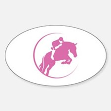 Horse Jumping Decal