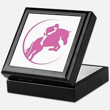 Horse Jumping Keepsake Box