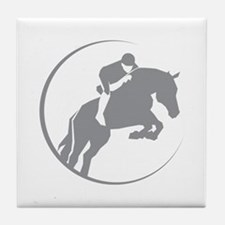 Horse Jumping Tile Coaster