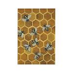 Honey Bees Rectangle Magnet