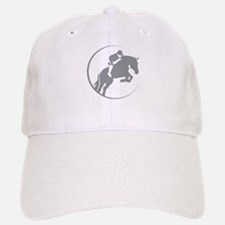 Horse Jumping Baseball Baseball Cap