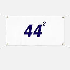 Obama 44 Squared Banner