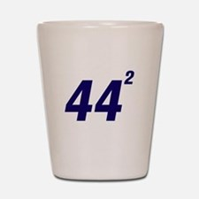 Obama 44 Squared Shot Glass