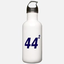 Obama 44 Squared Water Bottle
