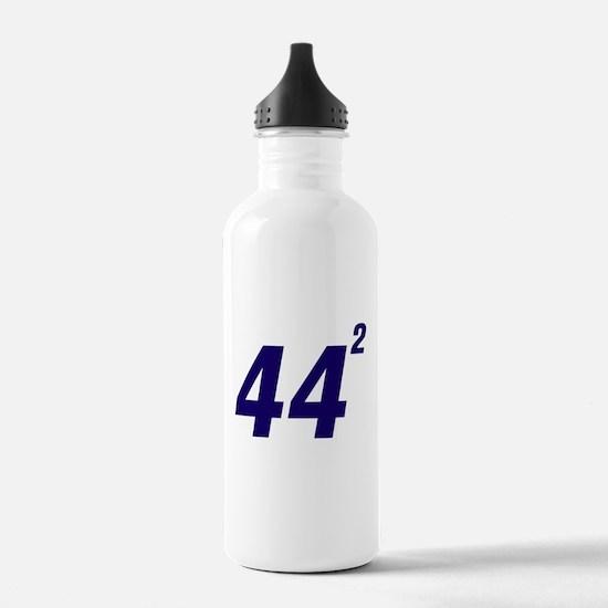 Obama 44 Squared Water Bottle