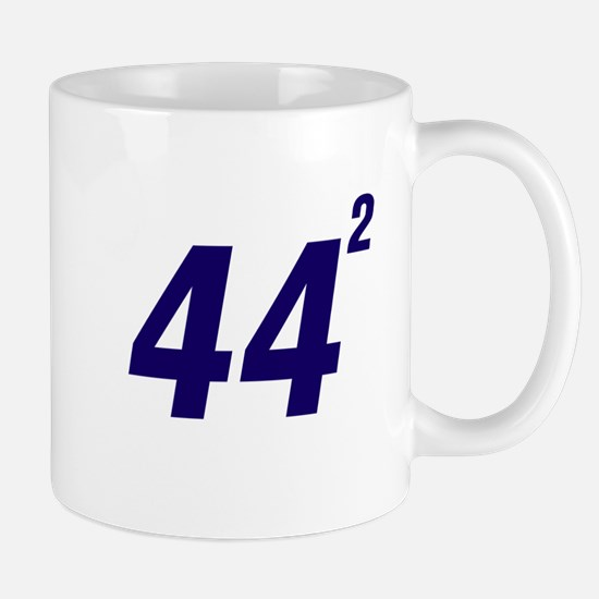 Obama 44 Squared Mug