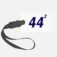 Obama 44 Squared Luggage Tag