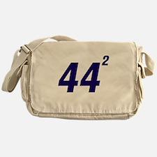 Obama 44 Squared Messenger Bag