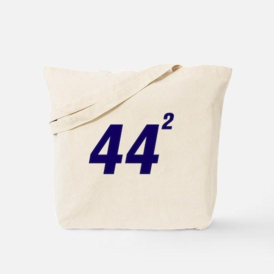 Obama 44 Squared Tote Bag