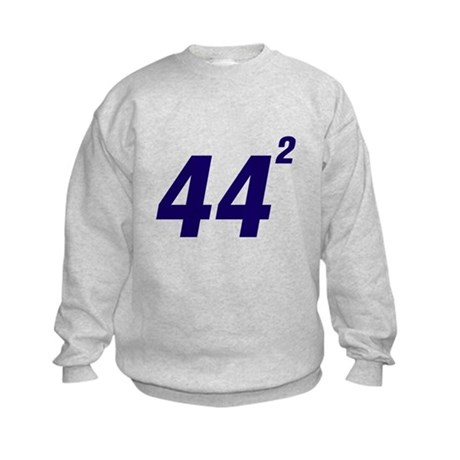 Obama 44 Squared Kids Sweatshirt