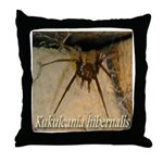 Southern House Spider Throw Pillow