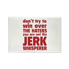 Jerk Whisperer Rectangle Magnet