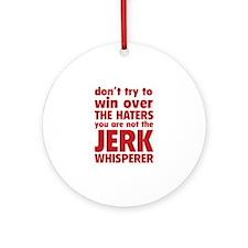 Jerk Whisperer Ornament (Round)