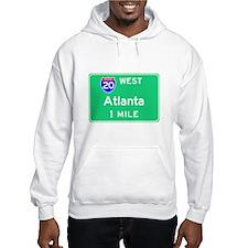 Atlanta Exit Sign Hoodie