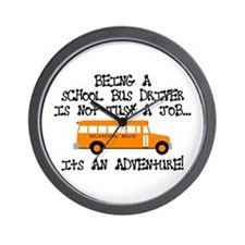 Being A School Bus Driver... Wall Clock
