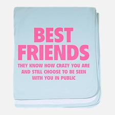 Best Friends baby blanket