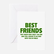 Best Friends Greeting Cards (Pk of 20)