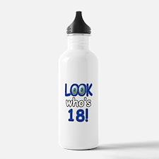 Look who's 18 Water Bottle