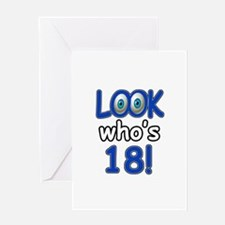 Look who's 18 Greeting Card